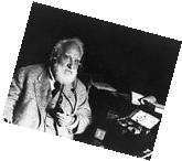 Alexander Graham Bell with Radiophone Headset 8x10 Silver