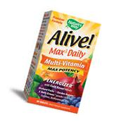 Nature's Way Alive! Max3 Potency Daily Multivitamin - 90