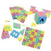 36PCs Baby Kids Alphabet Number Foam Crawl Playing Floor Mat