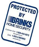 9 x 12 Aluminum Warning Security Business Home Video