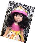 "American Girl Wellie Wishers 14"" Doll Clothes Custom Dress"