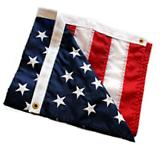 American Flag Embroidered 3x5 ftWithstands Tough Weather and