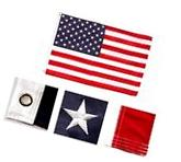 6x10 Foot American Flag HUGE 210D Embroidered USA Banner