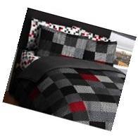 American Original Geo Blocks Bed in a Bag Bedding Comforter
