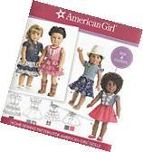 "18"" AMERICAN GIRL DOLL Modern Dresses Simplicity 8359 UNCUT"