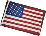 4x6 American Nylon Embroidered Stars Flag United States USA