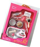 American Our Generation PET CARE PLAYSET Dog Cat Food Bed
