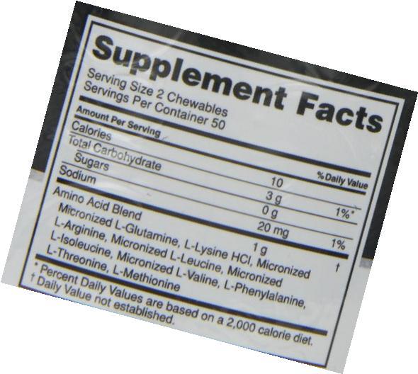 Optimum Nutrition Amino Chewables - Lemonade, 100 Pieces