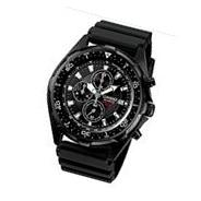 Casio Men's AMW330B-1A Chronograph Diver Inspired Analog