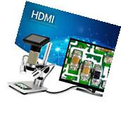 NEW Andonstar ADSM201 10x-300x USB HDMI Microscope for PCB