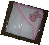 ANGEL OF MINE~BABY HOODED TOWEL 4 AFTER BATH~100% POLYESTER~