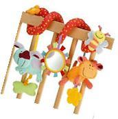 6Pcs Animal Handbells Developmental Toy Bed Bells Kids Baby