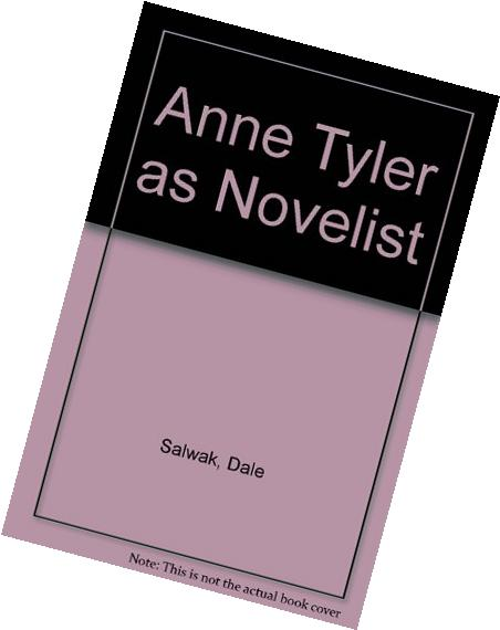 Anne Tyler as Novelist
