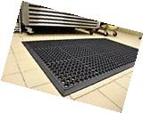 Anti Fatigue Restaurant Kitchen Bar Floor Mat Commercial