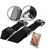 Anti-Tip Furniture & TV Straps 2 Pack | All Metal Parts |
