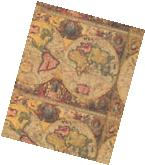 ANTIQUE MAP HEAVY GIFT WRAPPING PAPER - 30 in x 5 Ft Sheet