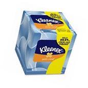 Kleenex Antiviral Facial Tissue; 68 Sheets/Box, 3 Boxes/Pack