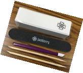 Jamberry 5pc Application Tool Kit -Nail File-Cuticle Pusher-
