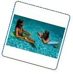 Aqua Swing Floating Chair Super Colors: Aquamarine Plain 28