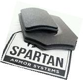 AR500 Spartan Body Armor Level III Base Coat Front and Back