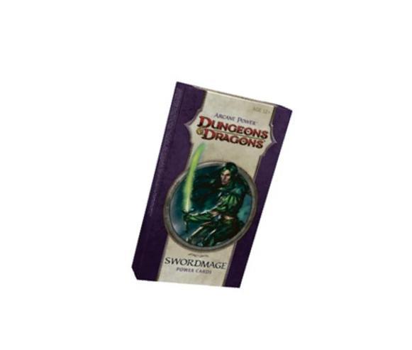 Arcane Power - Swordmage 1 Power Cards: A D&D Accessory