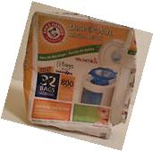 Munchkin Arm and Hammer Diaper Pail Refill Bags 11 Count
