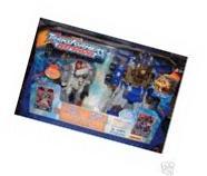 Transformers Armada Optimus Prime and Jetfire with 6 Mini