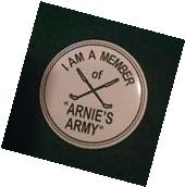"Arnold Palmer Arnie's Army 1.5"" Button Pin Augusta National"