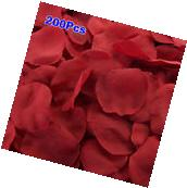 200pcs Artificial Silk Rose Flower Petals Bride Wedding