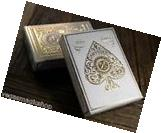 Artisan White Deck Playing Cards Poker Size Theory 11 USPCC