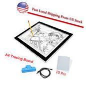 Artist Thin A4 LED Art Stencil Board Light Box Tracing