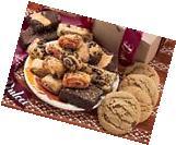Dulcet's Gift Basket's Assorted Kraft Box Assortment Filled