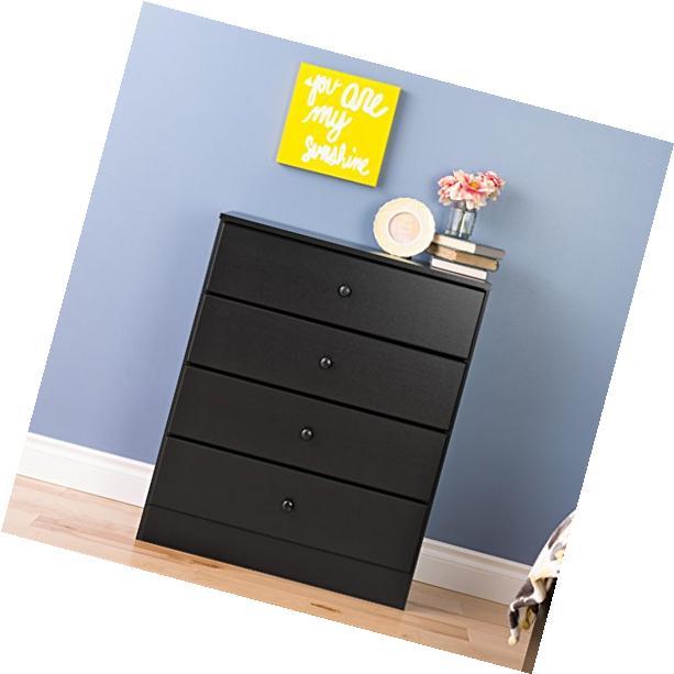 Prepac Astrid 4-Drawer Dresser  White - WDBR-0401-1 NEW