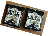 Wiley Wallaby Australian Style Black Licorice  5 oz bag
