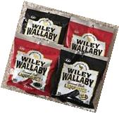 Wiley Wallaby Australian Style Gourmet Black & Red Liquorice