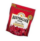 Wiley Wallaby Australian Style Gourmet Red Liquorice  Candy