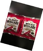 Wiley Wallaby Australian Style Gourmet Red Liquorice Lot of