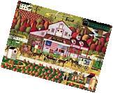 Buffalo Games Autumn Farms by Charles Wysocki Jigsaw Puzzle