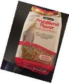 Zupreem FruitBlend Avian pellet diet 14oz bird Food,