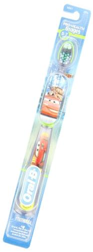 Oral-B Pro-Health Stages Disney Cars Manual Kid's Toothbrush