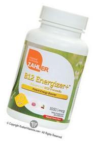 Zahlers B12 Energizer 5000 mcg Cherry Flavor - 120 Lozenges