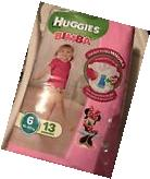 Adult Baby Huggies diapers non vintage From Italy Size