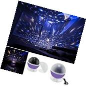 BABY NIGHT LIGHT Projector Star Moon Romantic Rotating