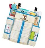 Baby Nursery Organizer and Diaper Caddy w/ Back Support and