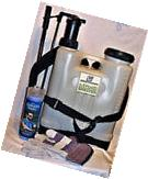 4 GALLON BACK PACK SPRAYER WITH COOLING TOWEL & WORK GLOVES