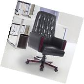 High Back Desk Task Office Chair PU Leather Computer