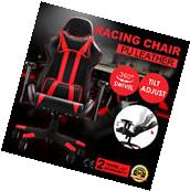 High Back Racing Gaming Chair Race Car Seat Adjustable