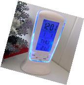 New Digital Backlight LED Display Table Alarm Clock Snooze