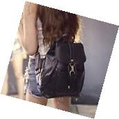 Fashion Women's New Backpack Travel Leather Handbag Rucksack