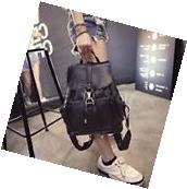 Women Ladies Backpack Travel Leather Rucksack Shoulder Bag